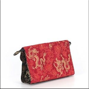 Saks fifth avenue Asian inspired clutch